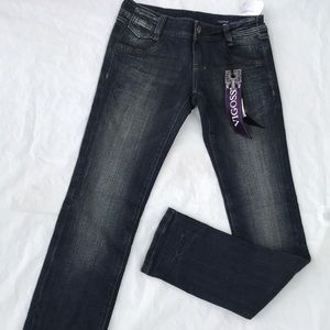 NEW Vigoss dark denim skinny jeans size 0